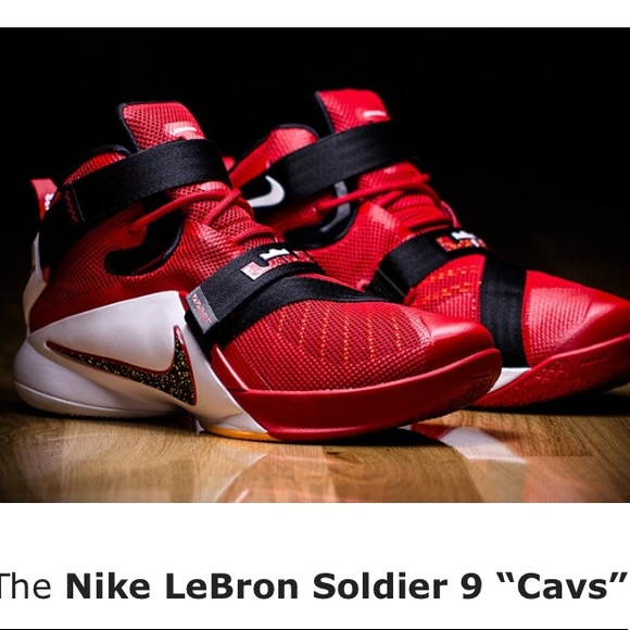 dd9b8f17e47b LeBron James Soldier 9 Other - Nike LeBron - Soldier 9 - size 4.5 youth
